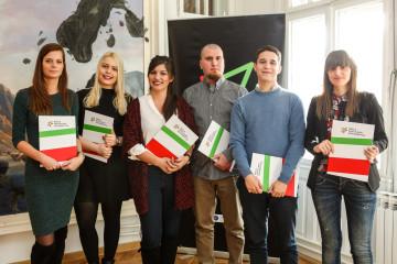 Milena Dragović, Ivana Stojanović, Tamara Milojević, Filip Rudić, Zoran Strika i Violeta Glišić