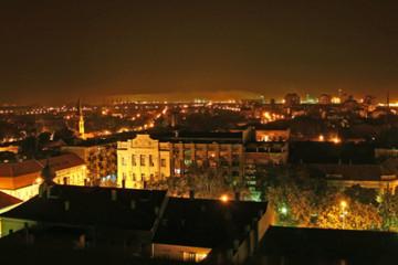 Pančevo_at_night_1